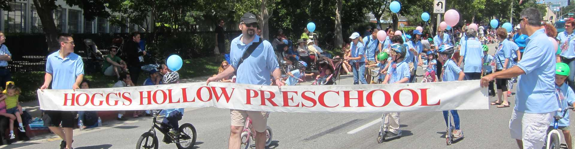 hogg's_hollow_preschool_in_the_memorial_day_parade